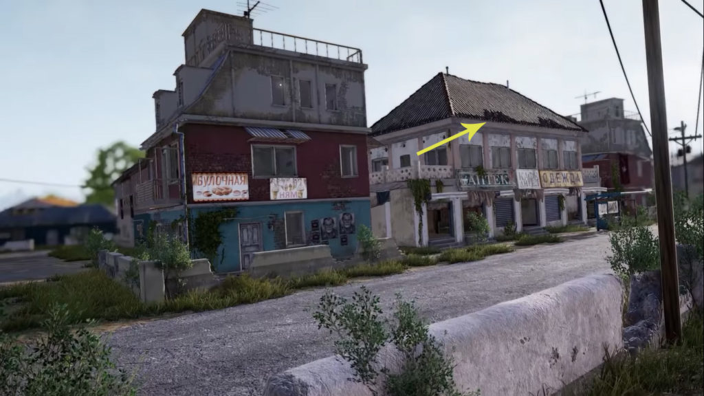 buildings in pubg erangel update