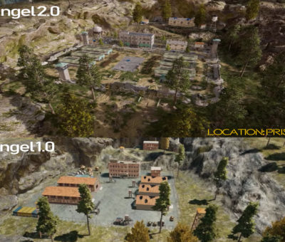 erangel 2.0 map update