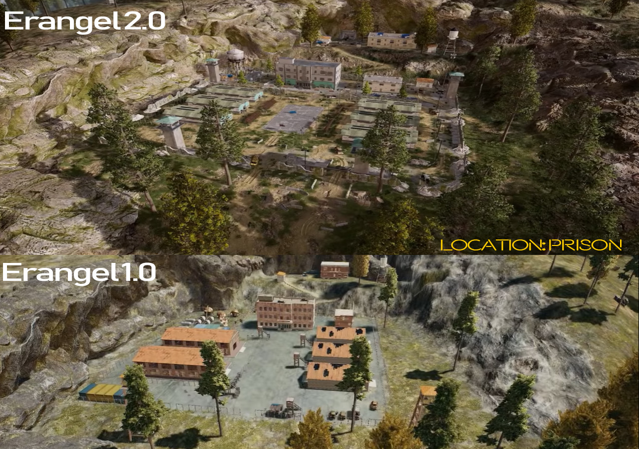 erangel 2.0 map update