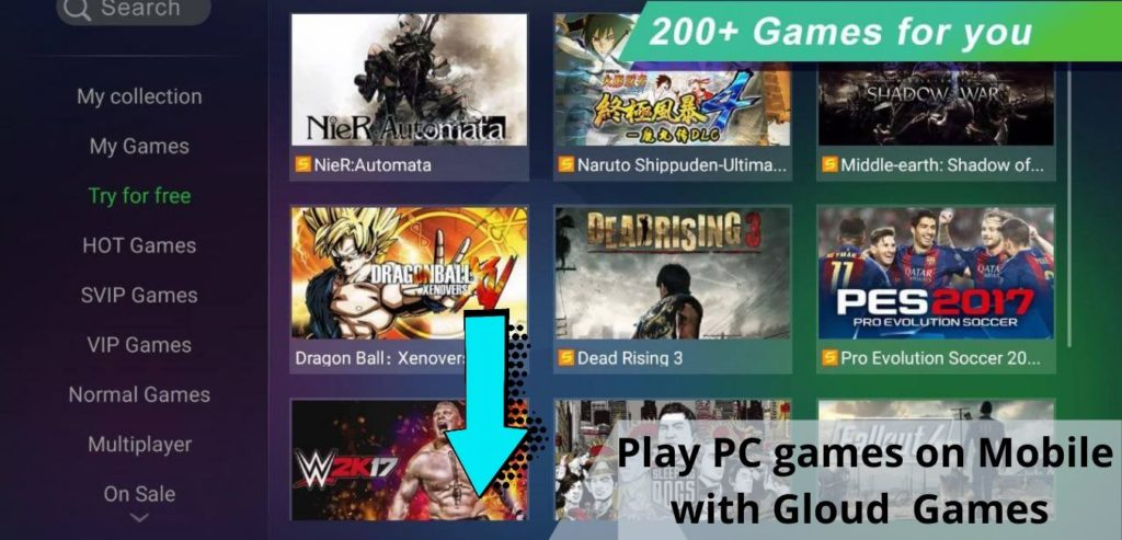 Install Gloud Games Latest Apk for Android and IOS