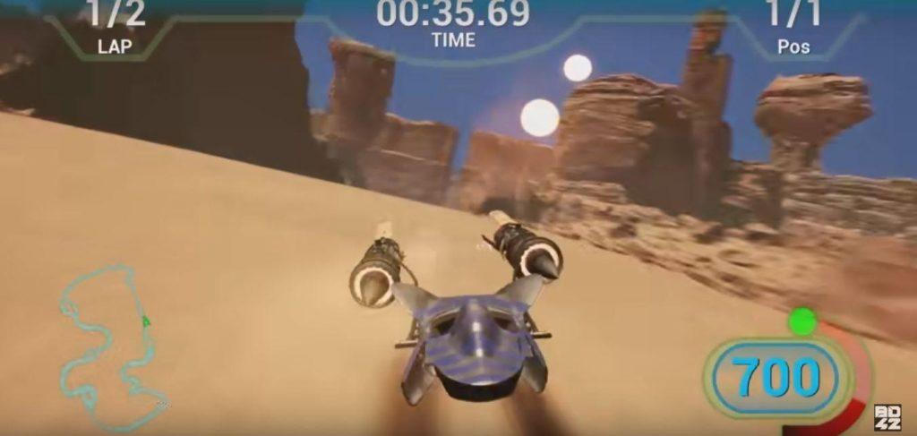 Star Wars Pod Racer game image