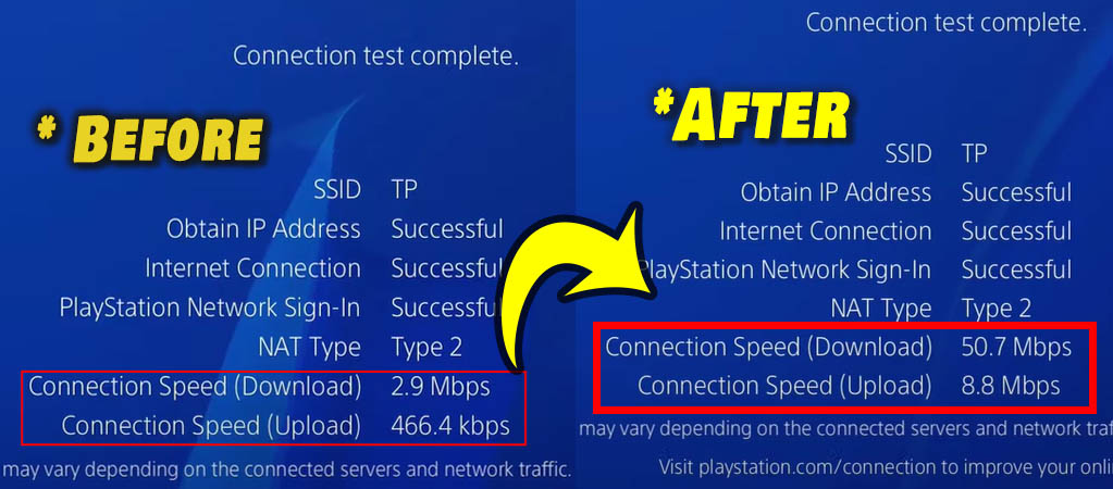 comparison download speed before and after ps4 thumbnail