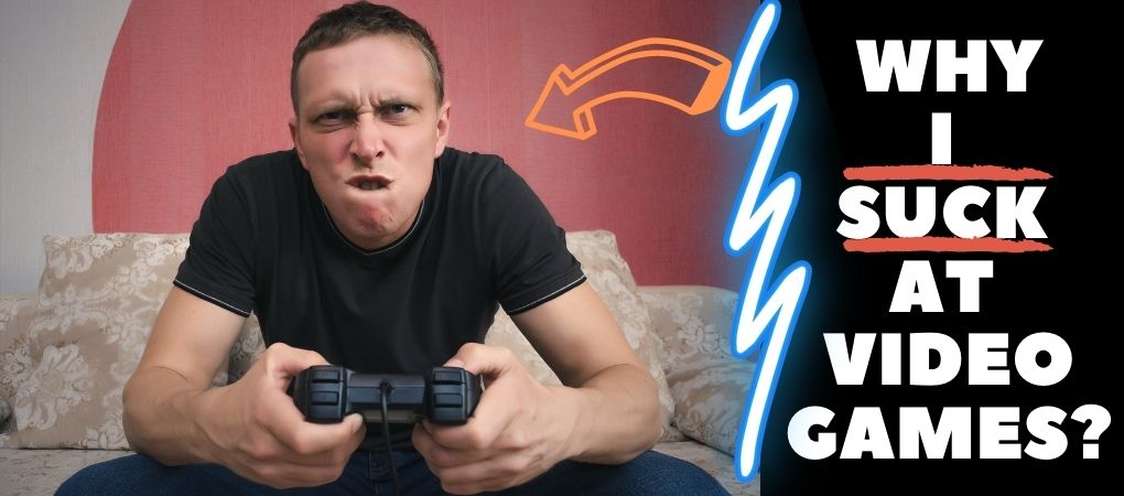 man with gaming joy stick